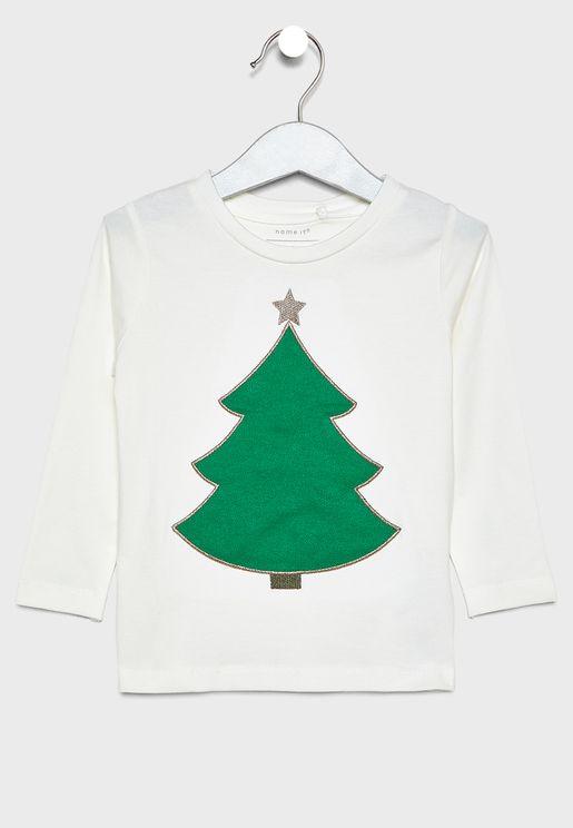 Kids Christmas Tree T-Shirt