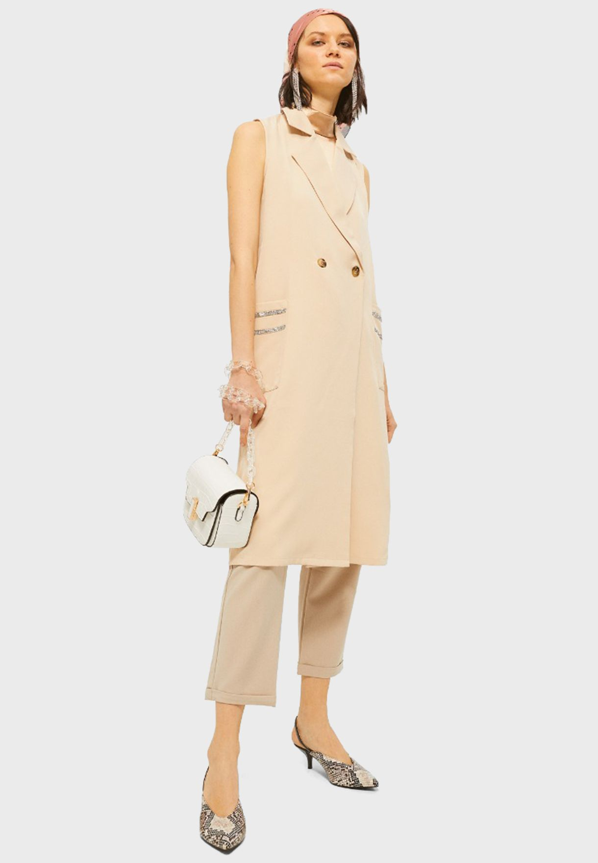 Tie Waist Blazer Dress