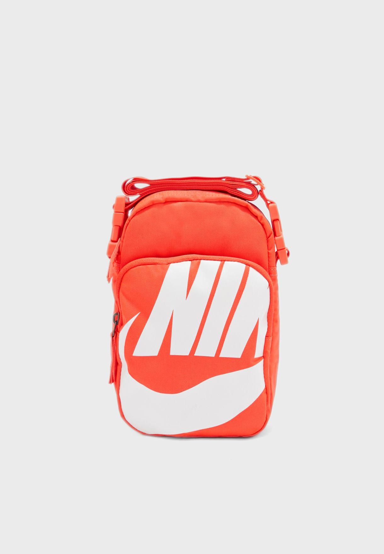 Pino exceso atlántico  Shop Nike orange Heritage Graphic 2.0 Crossbody Bag BA6344-671 for ...