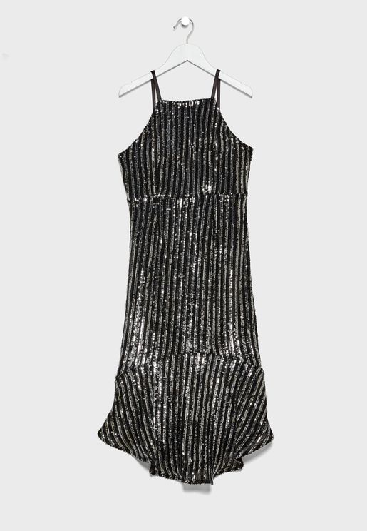 Teen Sara Sequin Dress