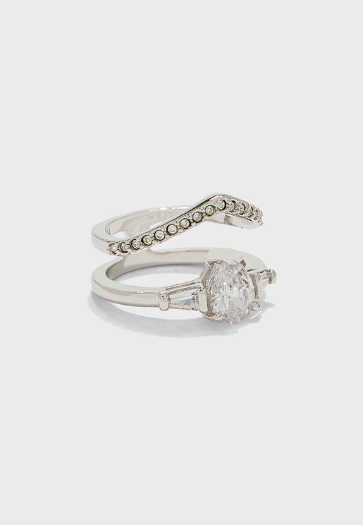 Hatton Wishbone Ring