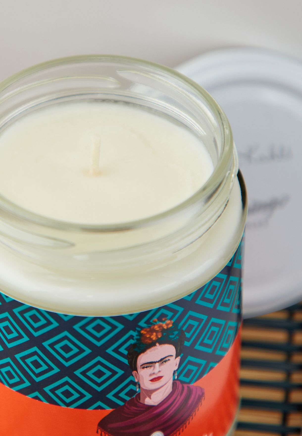 Frida Kahlo Pineapple Candle