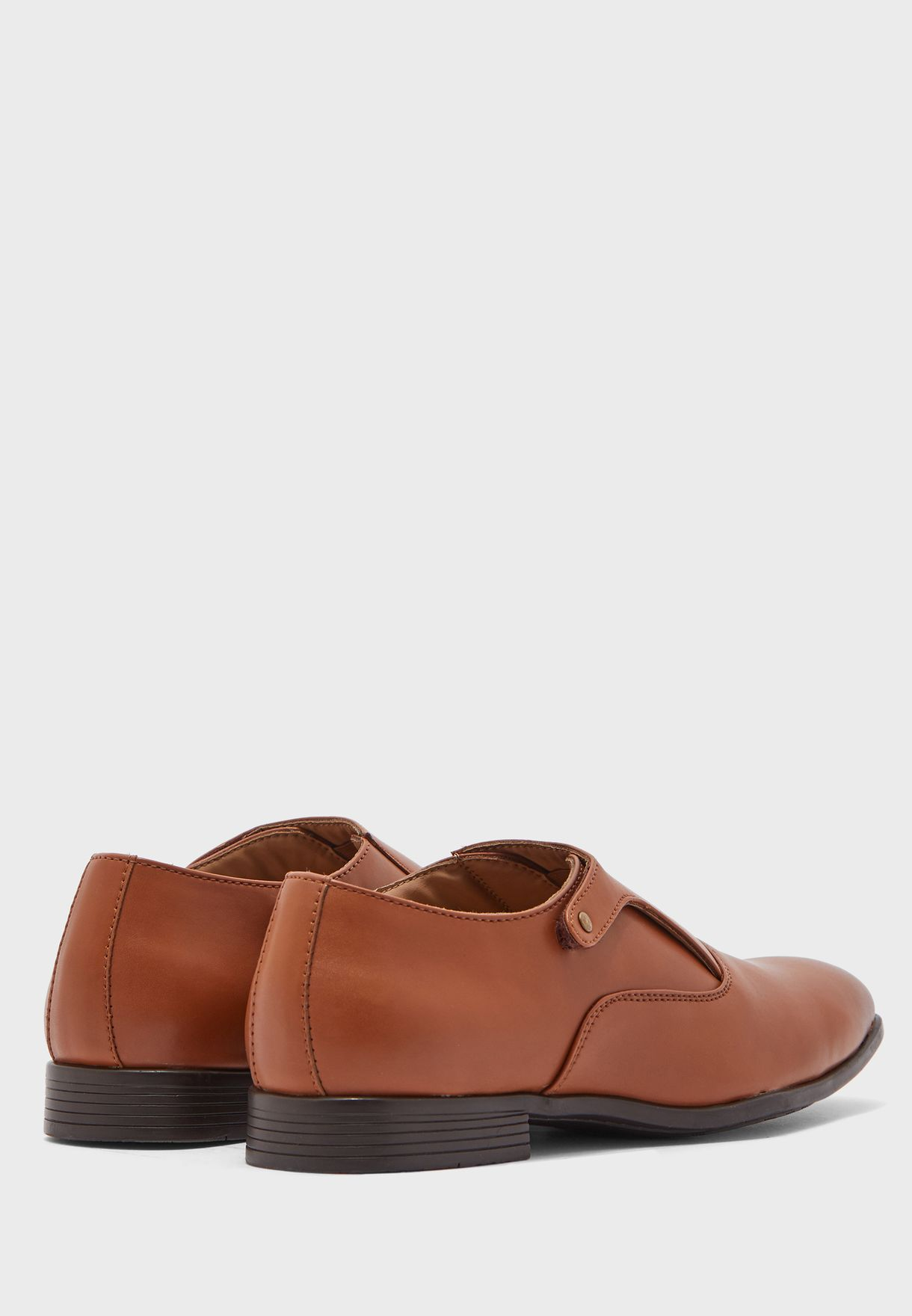 Comfort Gel Insole Monk Shoes