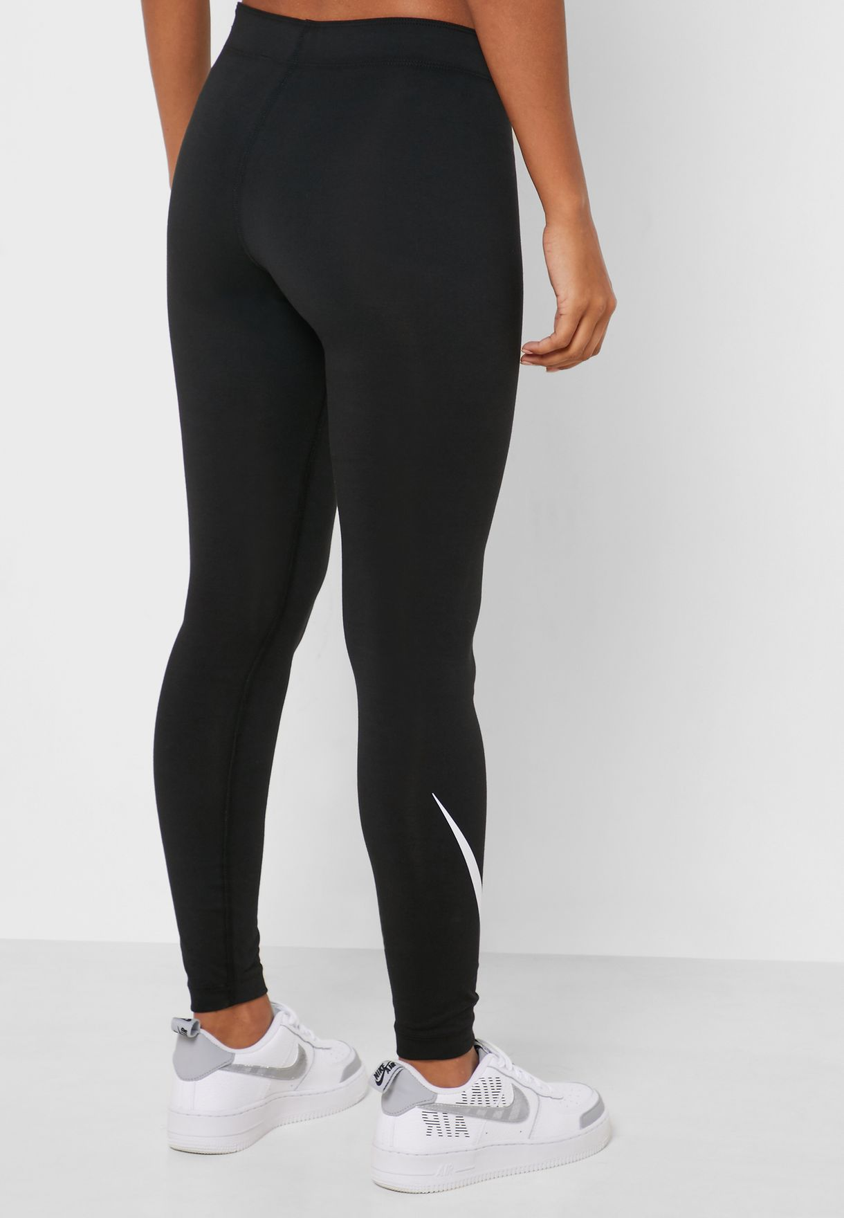 NSW Leg-A-See Swoosh Leggings