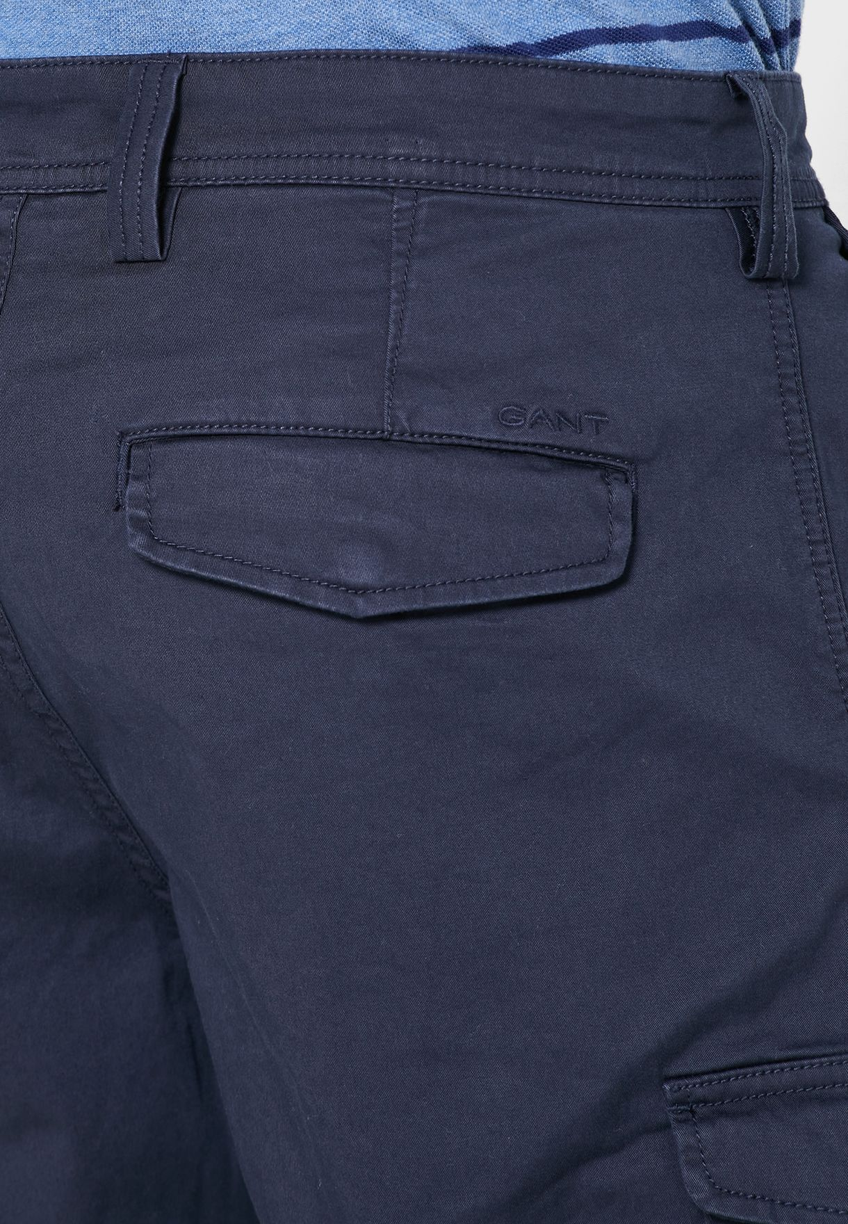 Relaxed Cargo Shorts