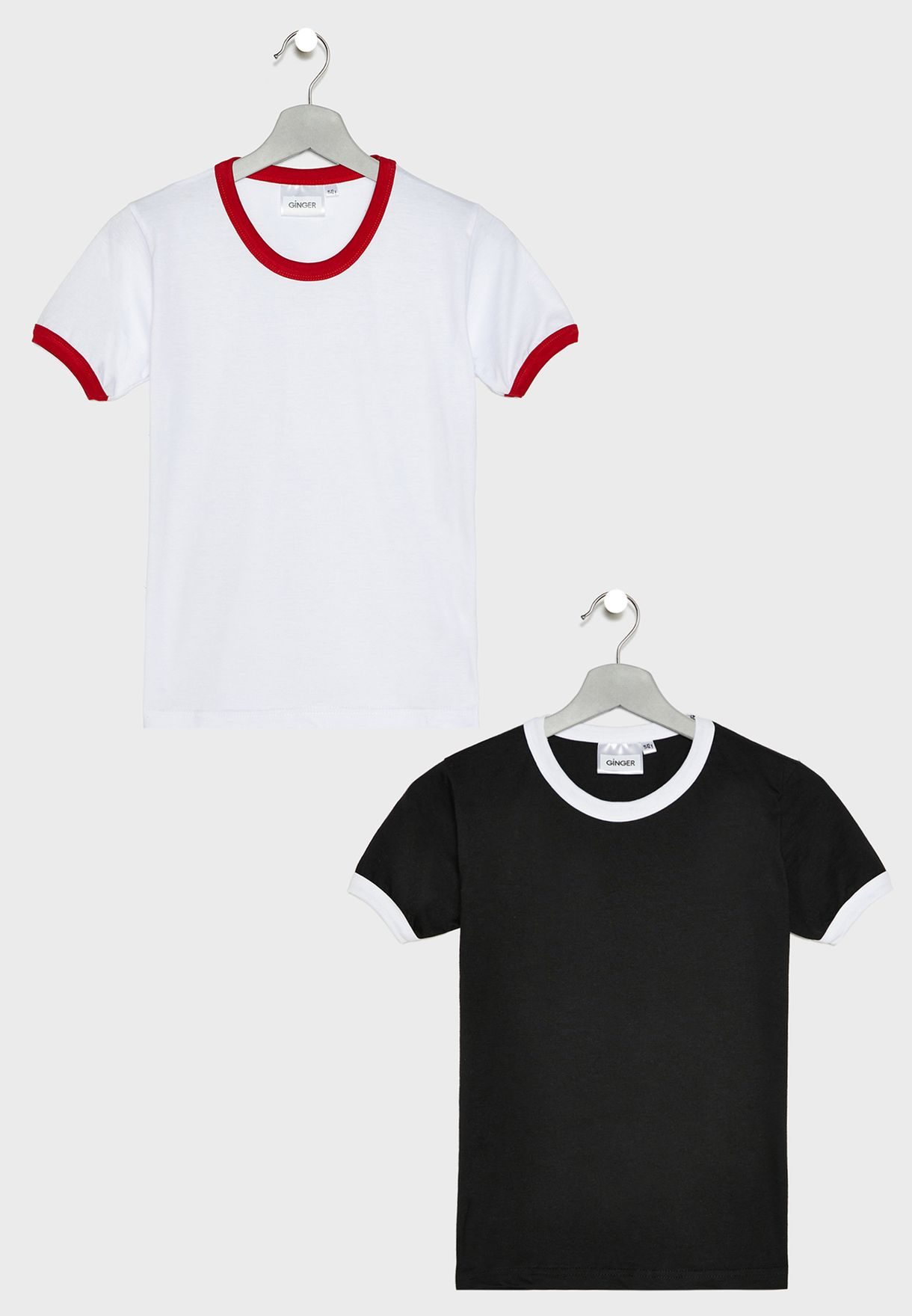 Kids 2 Pack Ringer T-Shirt