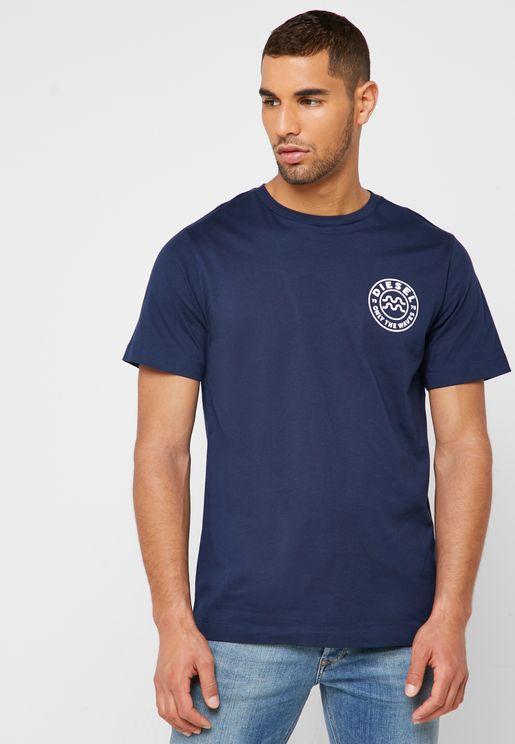 Just B Logo Crew Neck T-Shirt