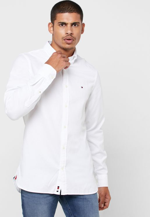 Flex Dobby Slim Fit Shirt