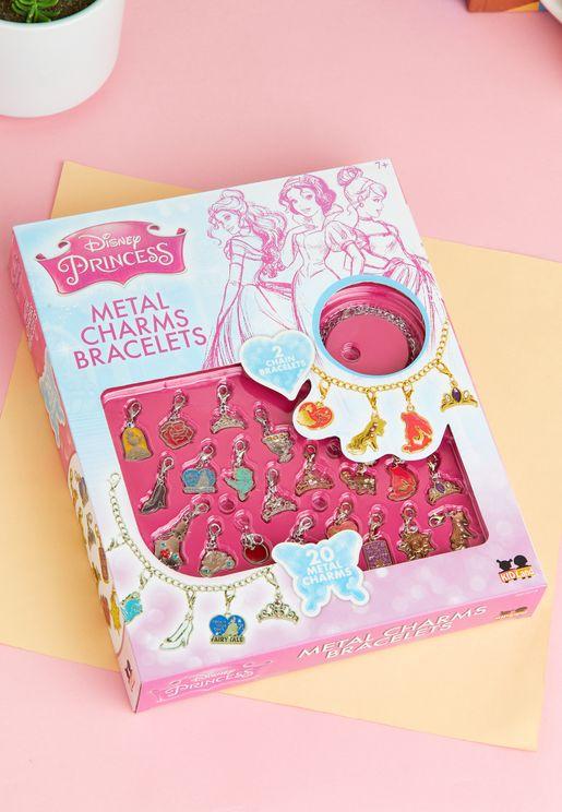 Princess Metal Charm Bracelet