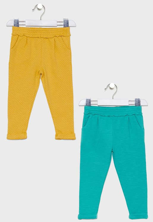 Infant 2 Pack Pretty Sweatpants