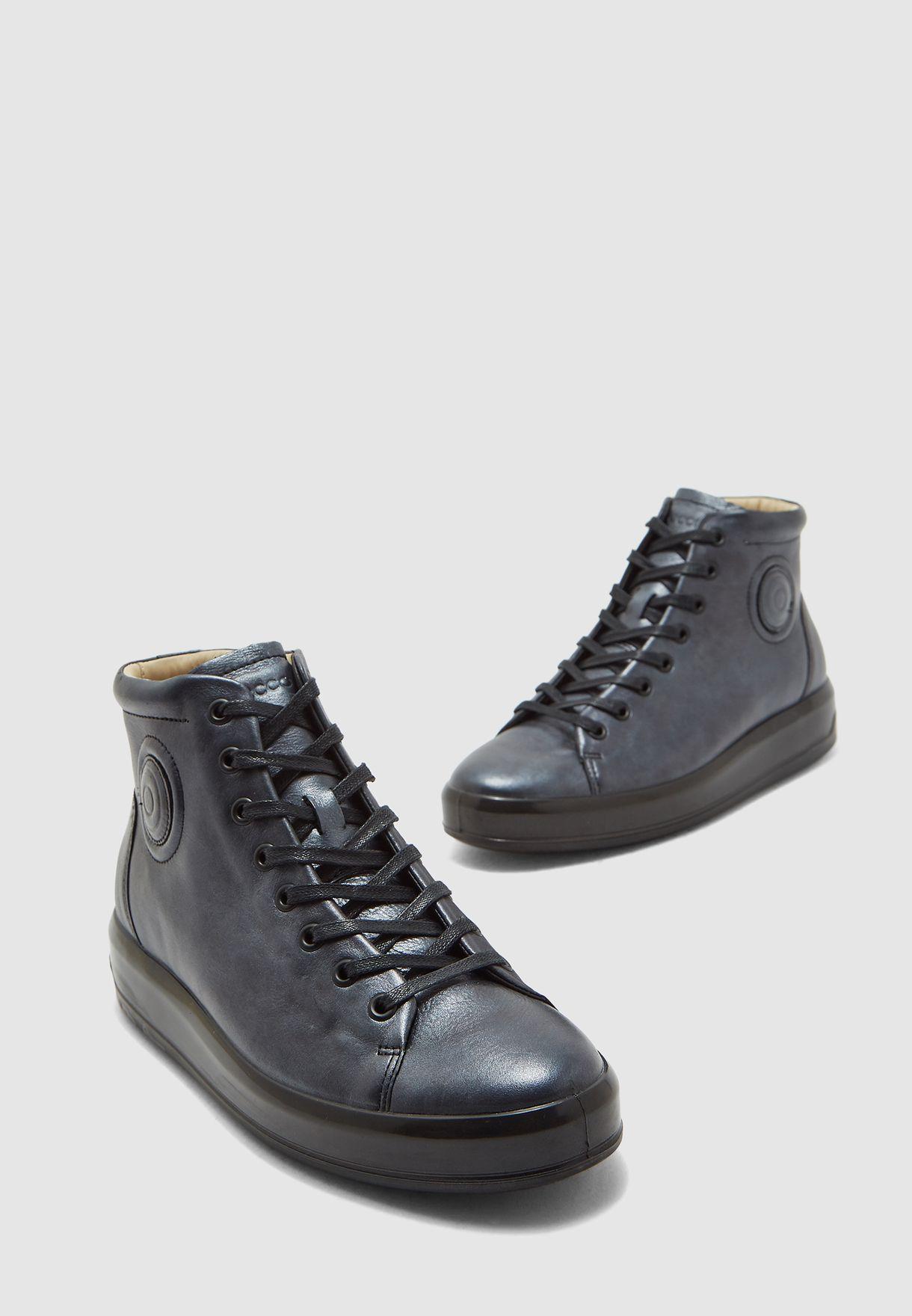 Buy Ecco grey High Top Sneakers for