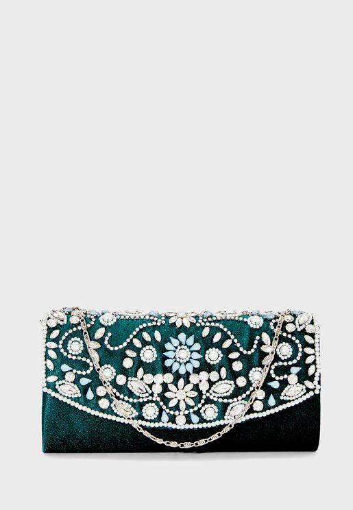Embellished Clutch