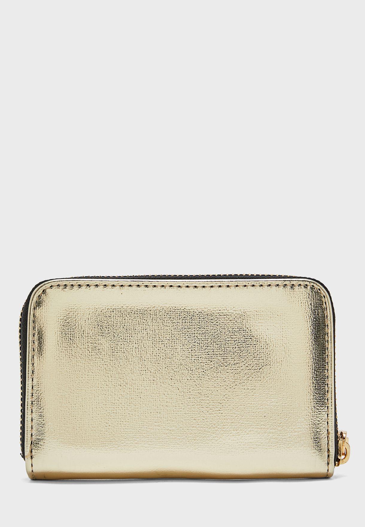 Badu Zip Metallic Wallet