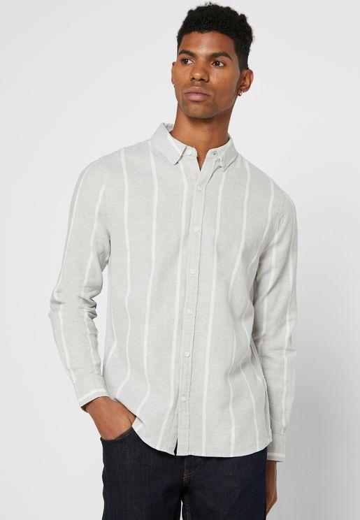 Striped Slim Shirt