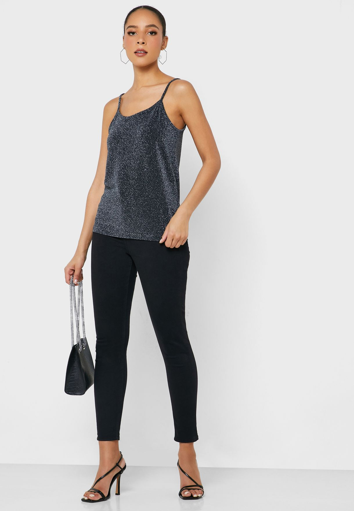 Shimmer Cami Top