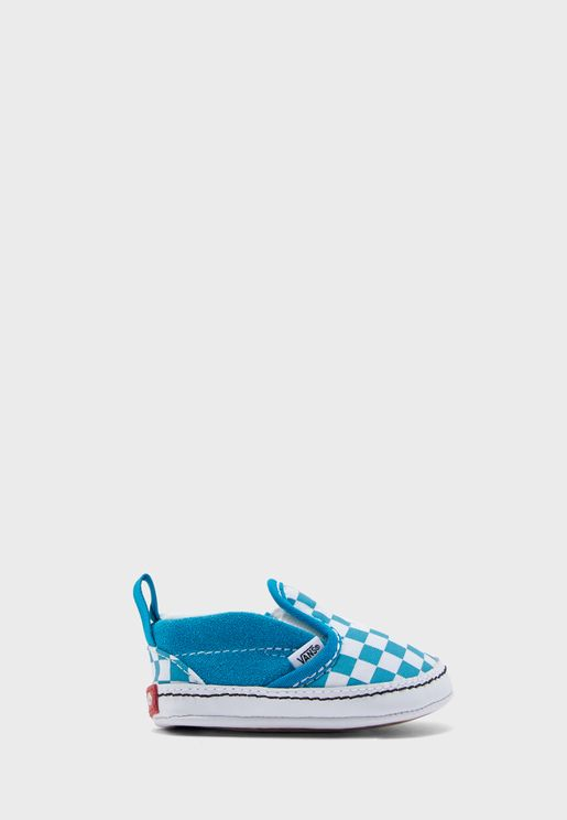 Infant Checkerboard Slip On V Crib