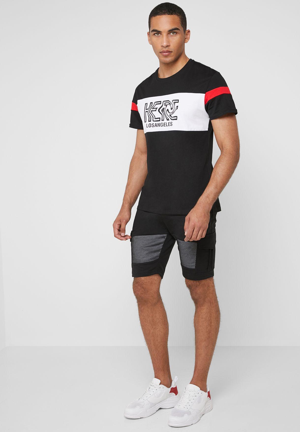 Los Angeles Crew Neck T-Shirt