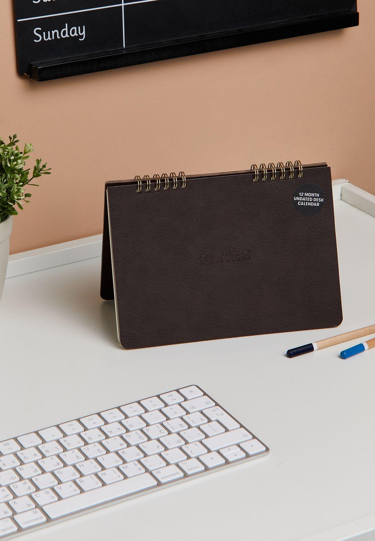 Undated Buffalo Flip Desk Calendar