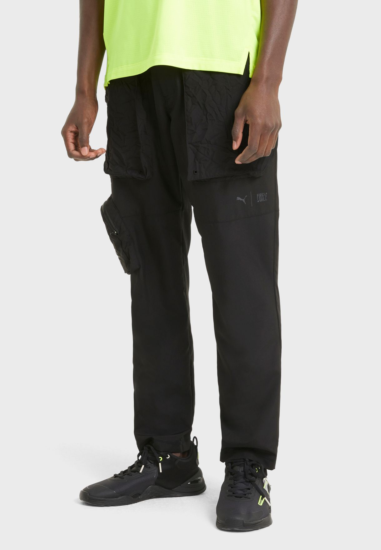 First Mile Tapered Woven Sweatpants