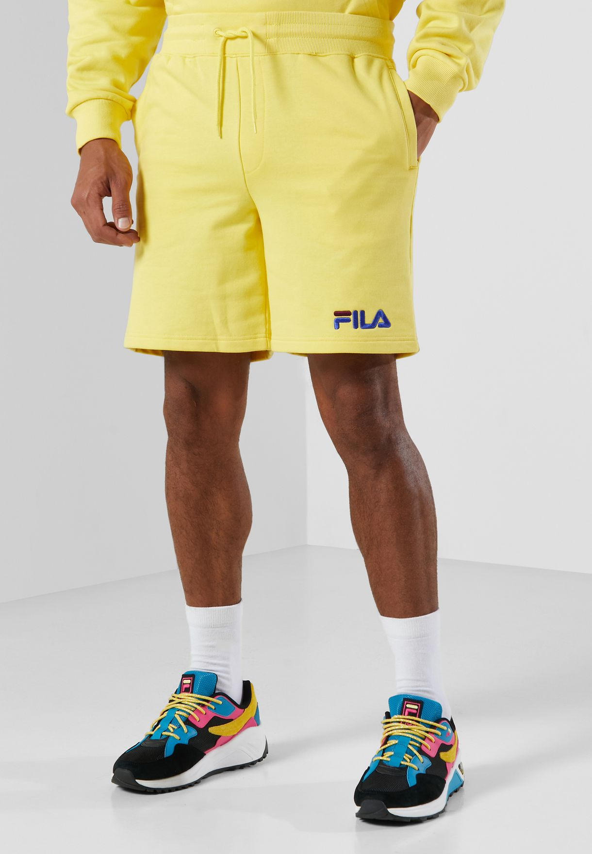 Darnell Embroidered Shorts