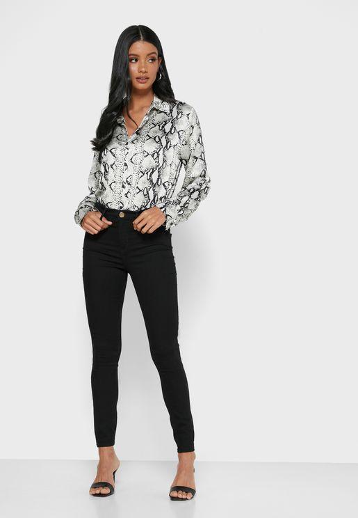 Molly High Waist Skinny Jeans