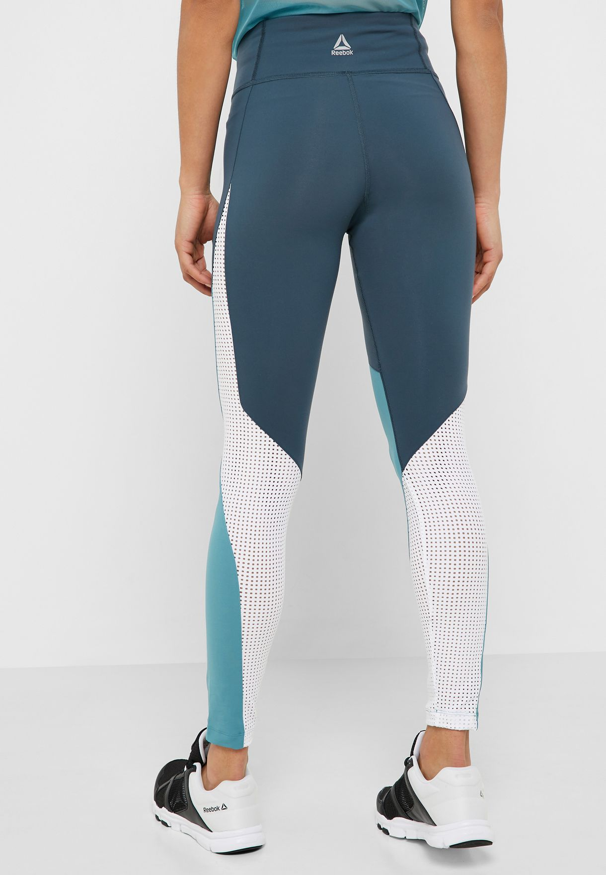 One Series Lux Perforated Tights