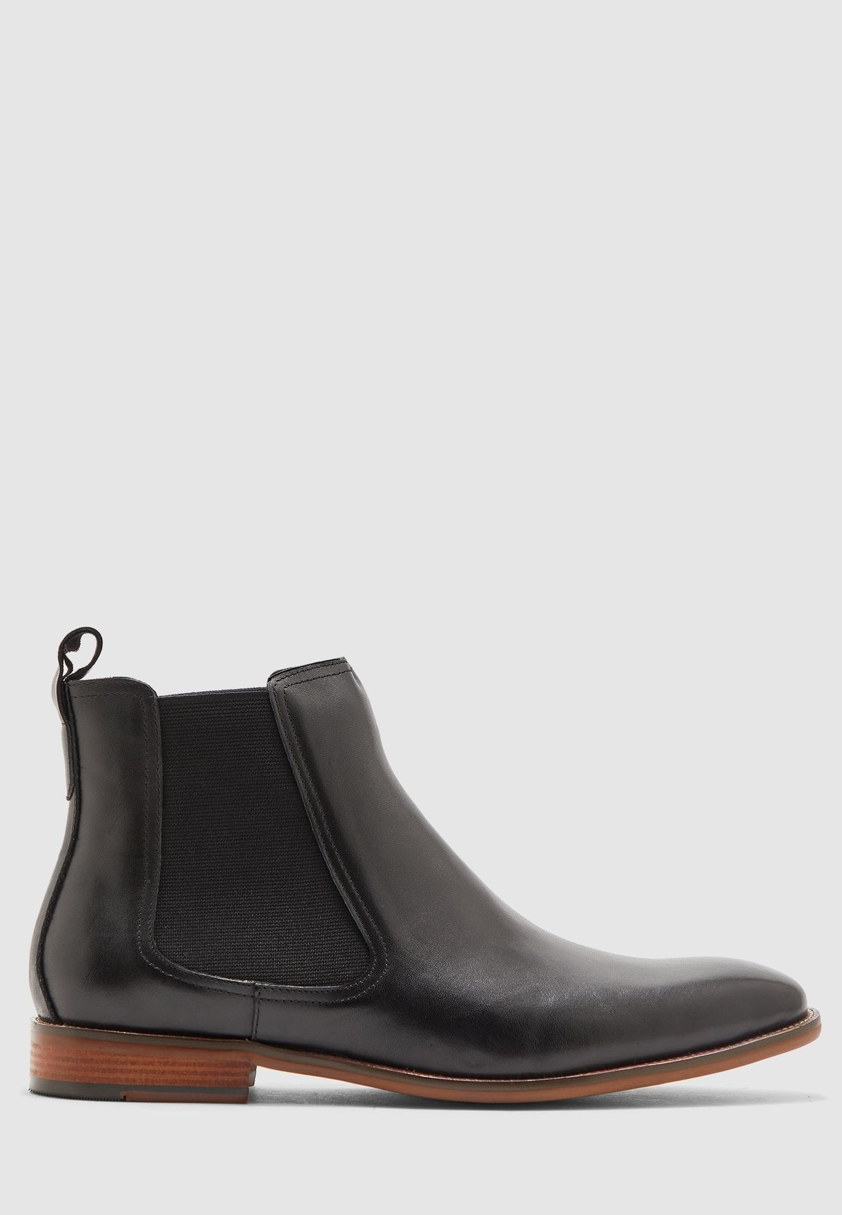 Leather Formal Chukka Boots