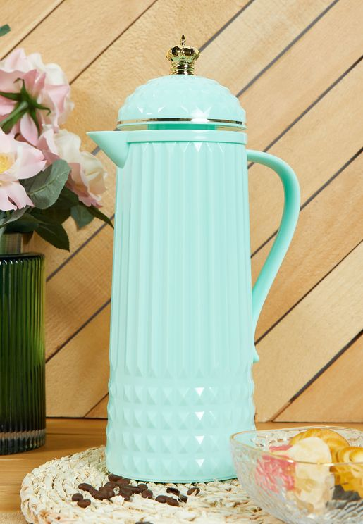 Crown Glossy Thermos Flask
