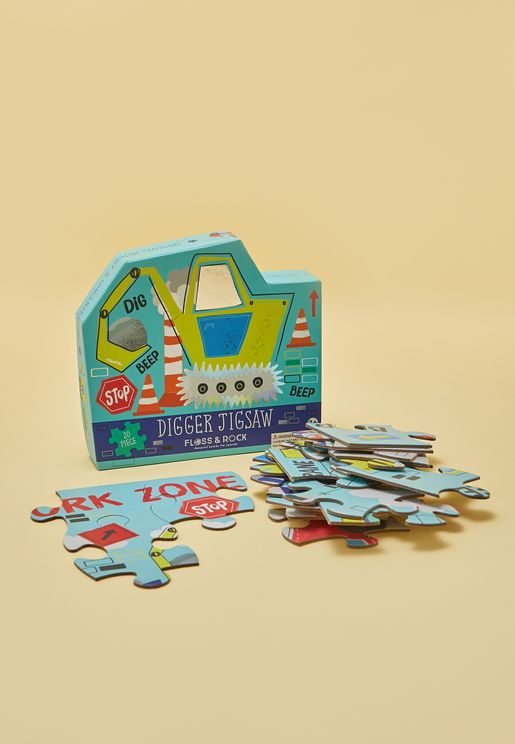 Construction 20pc Jigsaw Puzzle