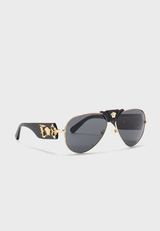0VE2150Q Aviator Sunglasses