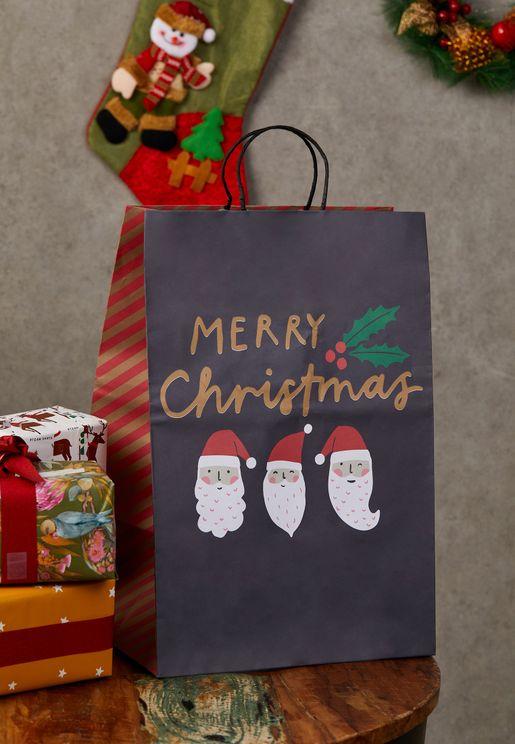 شنطة هدايا للكريسماس