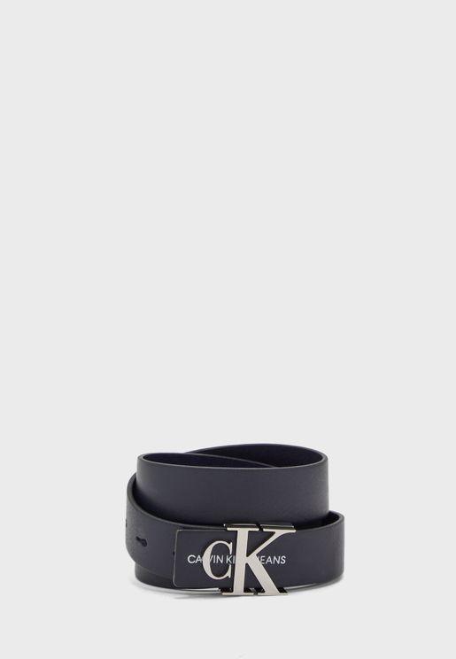 Mono Leather Belt