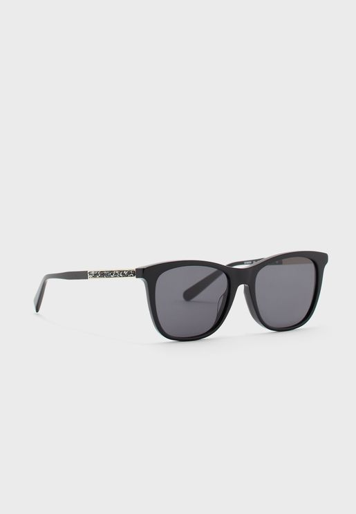 SF888SR classic rectangular Sunglasses