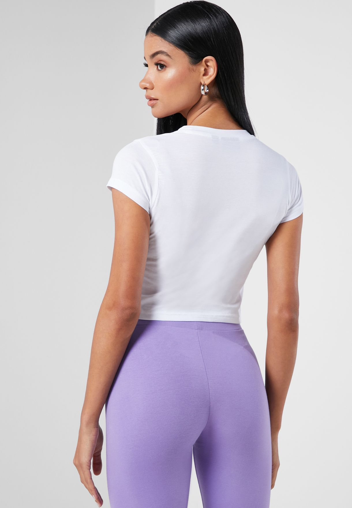 Chantal Graphic Cropped Top