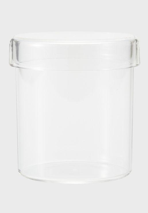 علبة تخزين شفافة