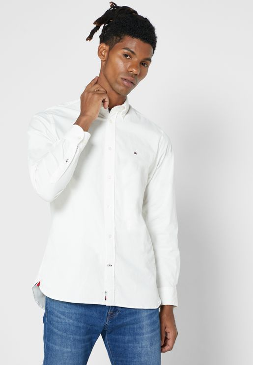 Corduroy Slim Fit Shirt