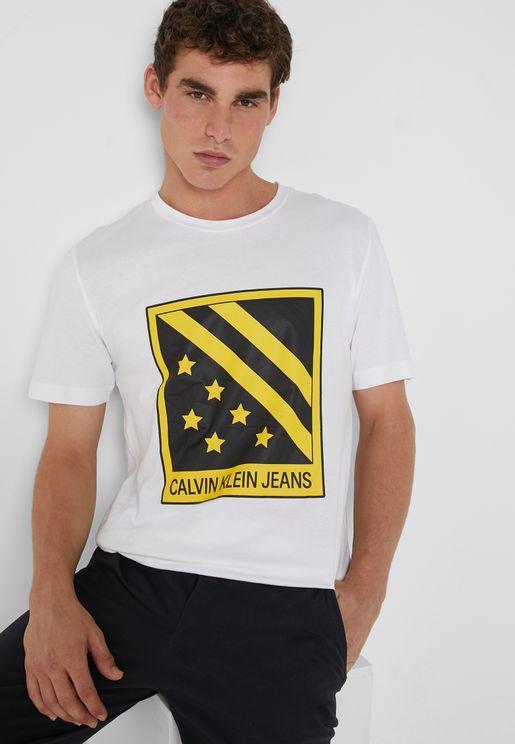 Big Badge Crew Neck T-Shirt