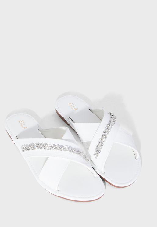 Crocs Women/'s Wedge Slip On Sandals Navy 4Q2 tz NEW
