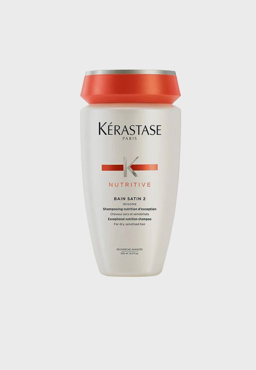 Nutritive Bain Satin 2 Deep Nourish Shampoo 250ml