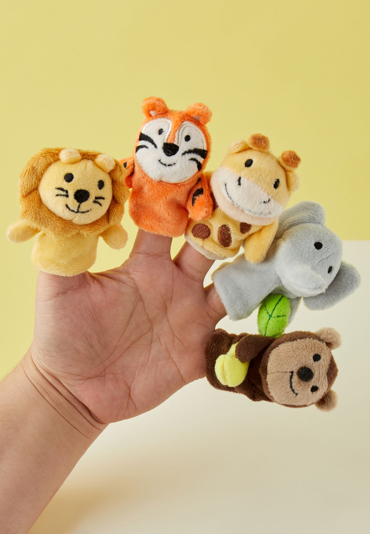 Jungle Animal Finger Puppets