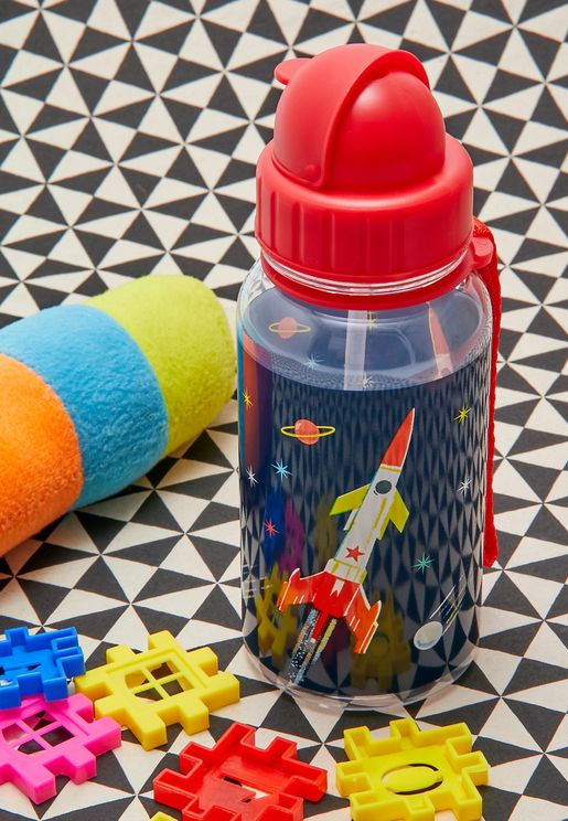 Space Age Kids Water Bottle