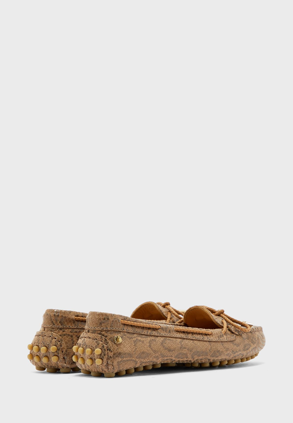 Casual Knot Detail Moccasin