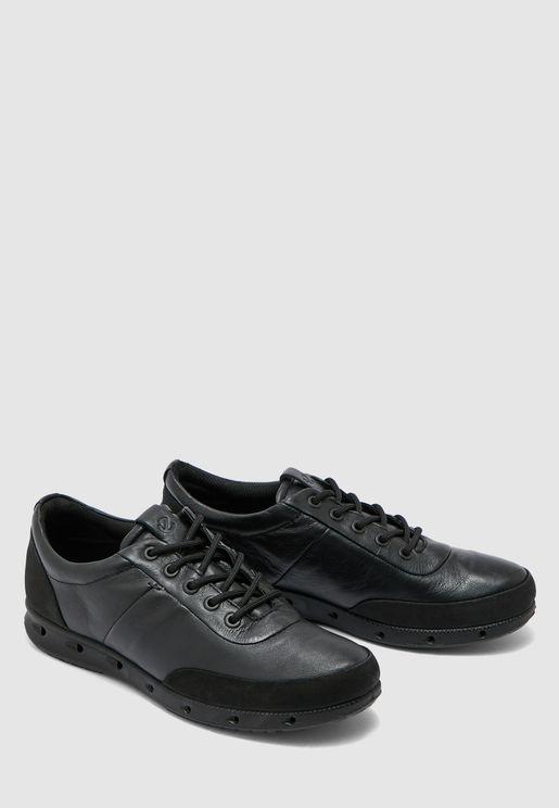 Ecco Multi Vent Sneaker - Black