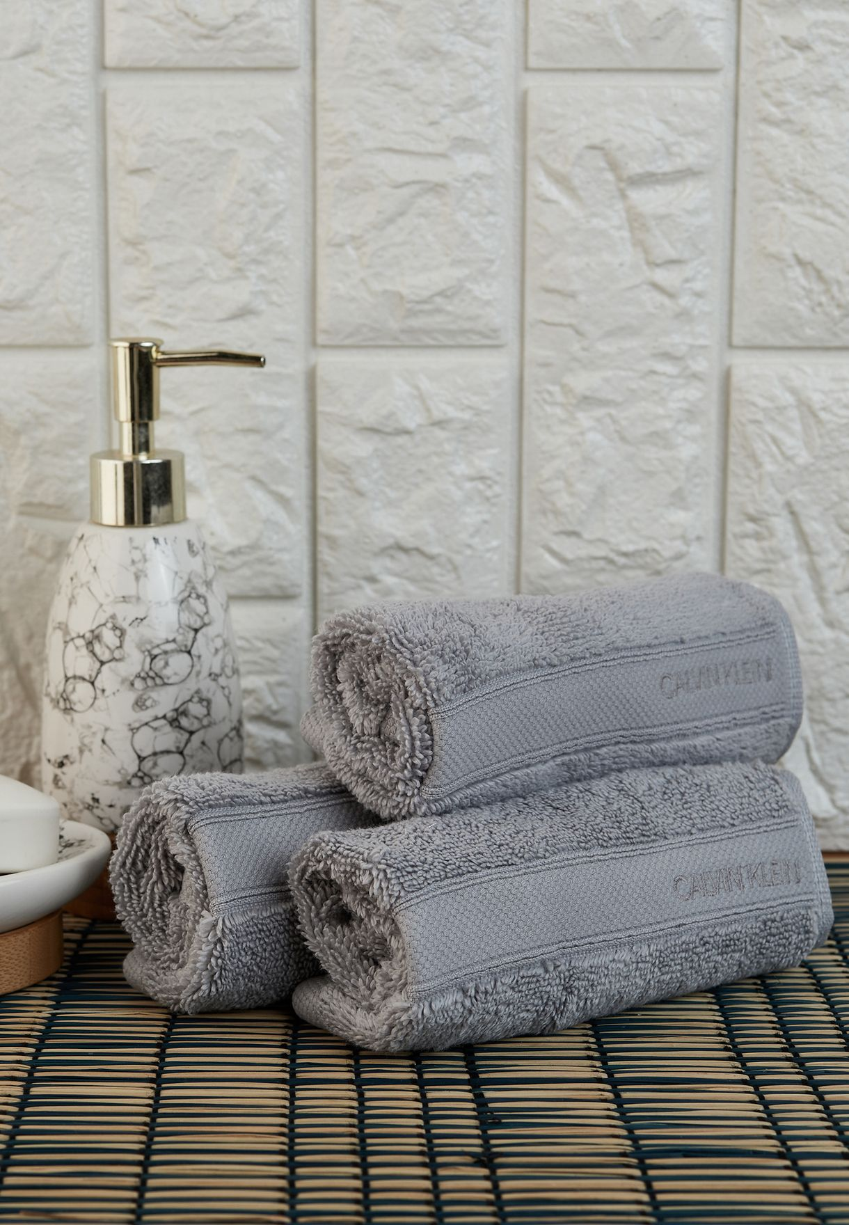 Set Of 3 Tracy Wash Cloths
