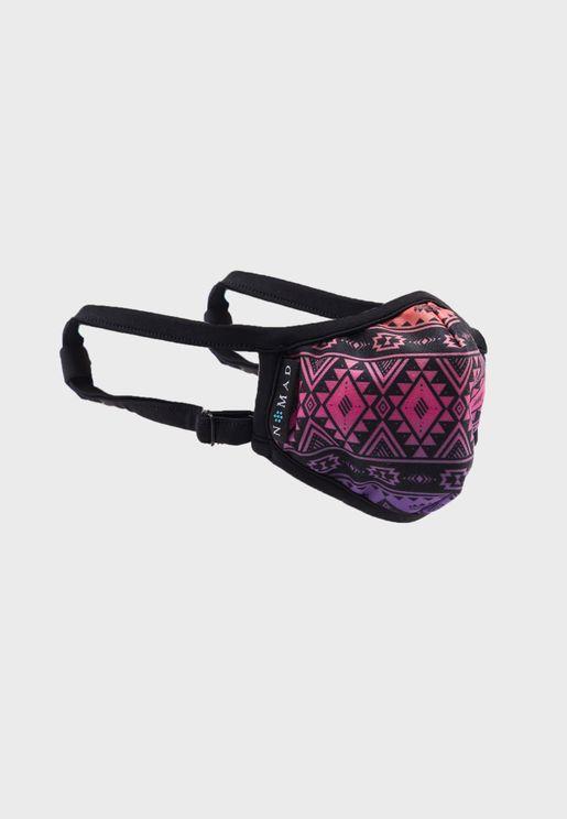 Aztec Print Mask