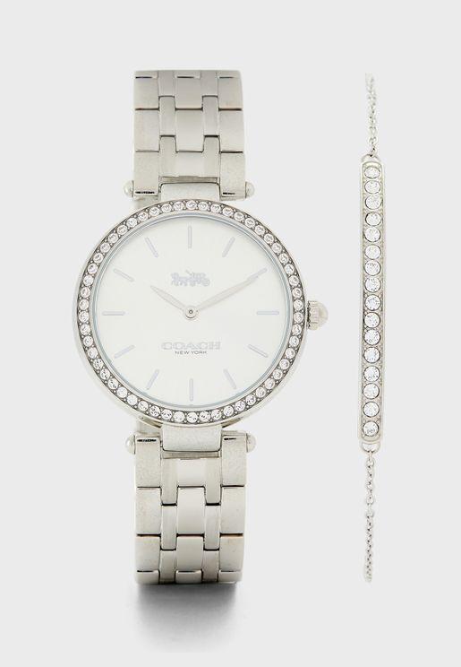 Bracelet+Analog Watch