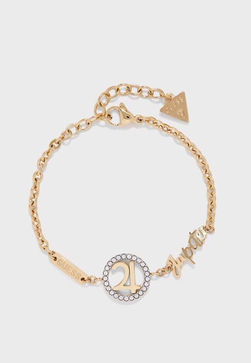 Jupiter Logo Bracelet