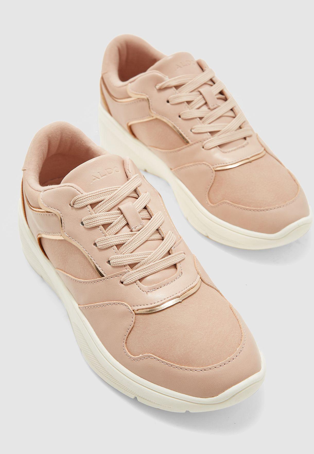 Agrarevia Low Top Sneaker - Pink