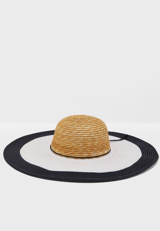 Nautical Straw Hat