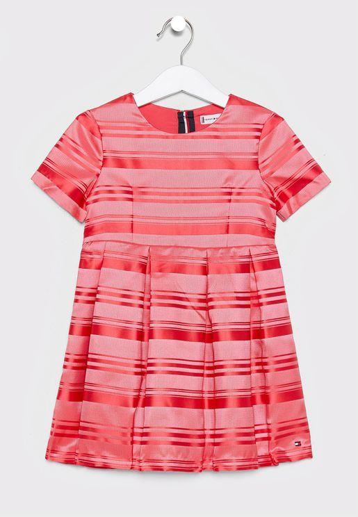 Kids Striped Dress